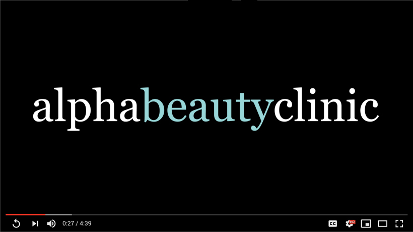 Alpha Beauty Clinic: Video Placeholder