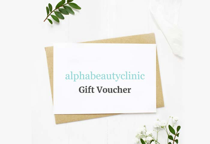 Alpha Beauty Clinic: Gift Vouchers